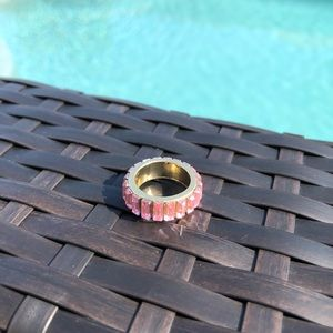Pink Stones Ring NWT